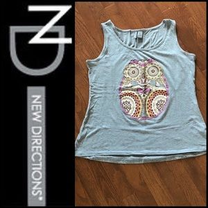 🆕NEVER WORN WOMEN'S NEW DIRECTION GREY TANK TOP